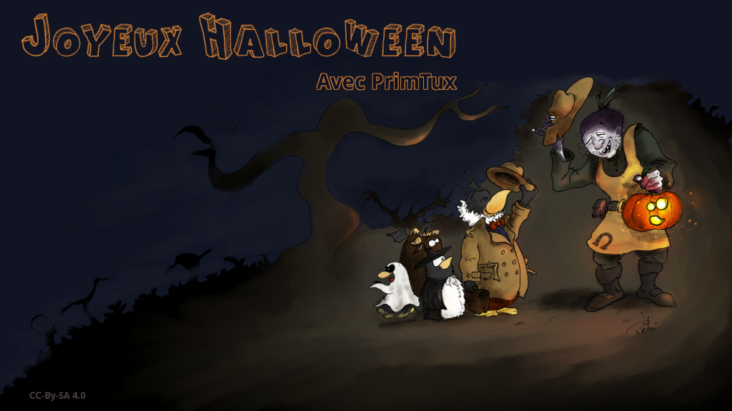 halloweenprimtuxtext